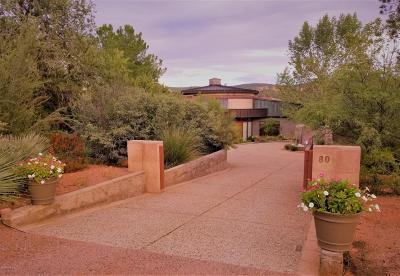 Sedona AZ Single Family Home For Sale: $2,190,000