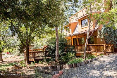 Sedona Single Family Home For Sale: 15 Dragoon Way