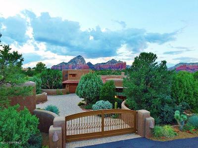 Sedona, Camp Verde, Cornville, Cottonwood, Lake Montezuma, Prescott, Prescott Valley, Rimrock Single Family Home For Sale: 100 Soldier Pass Rd