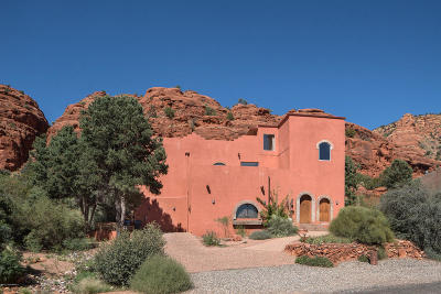 Sedona Single Family Home For Sale: 20 Soldier Basin Drive