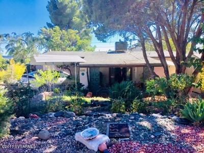 Lake Montezuma Single Family Home For Sale: 4595 E Cochise Drive