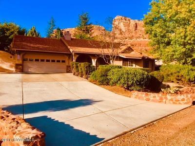Sedona Single Family Home For Sale: 80 Oakcreek Drive