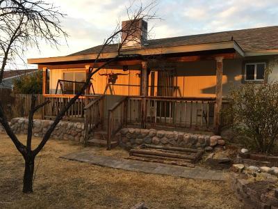 Lake Montezuma Single Family Home For Sale: 4775 E Redrock Drive