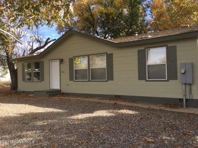 Camp Verde Single Family Home For Sale: 3587 E Ripple Rd