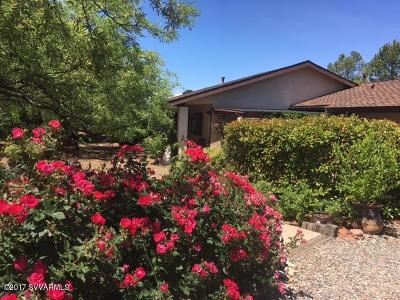 Sedona Single Family Home For Sale: 55 Park Circle