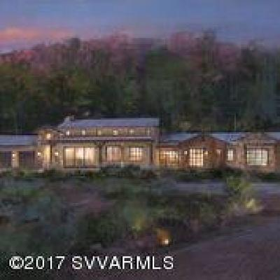 Sedona AZ Single Family Home For Sale: $1,643,000