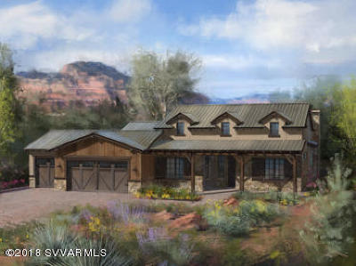 Sedona AZ Single Family Home For Sale: $1,262,000