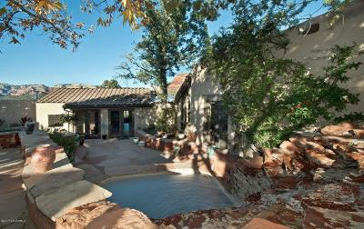 Sedona AZ Single Family Home For Sale: $910,000