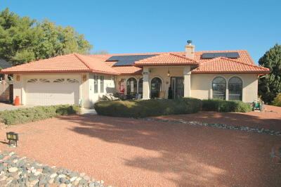 Sedona Single Family Home For Sale: 30 Arch Drive