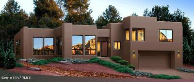 Sedona Single Family Home For Sale: 3165 Thunder Mountain Rd