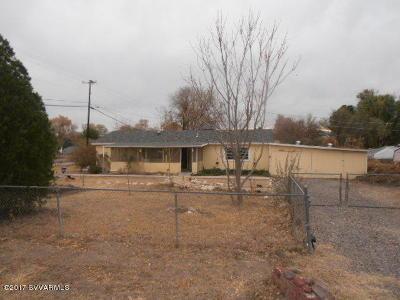 Camp Verde Single Family Home For Sale: 3497 E Aberdovey Drive