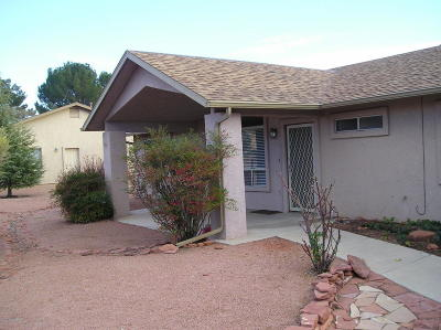 Sedona Single Family Home For Sale: 365 W Verde Valley School Rd