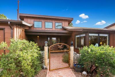 Sedona AZ Single Family Home For Sale: $865,000