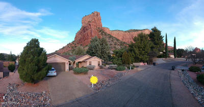Sedona Single Family Home For Sale: 150 Coffee Pot Rock Rd