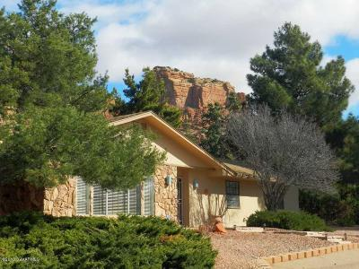 Sedona Single Family Home For Sale: 10 Redrock Rd