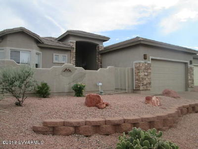 Cornville Single Family Home For Sale: 4885 E Boulder Canyon Drive