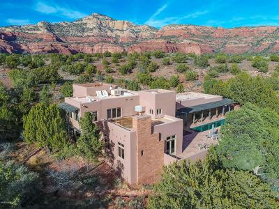 Sedona Single Family Home For Sale: 140 Bear Mountain Rd