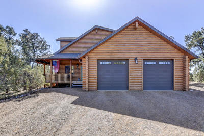 Prescott Single Family Home For Sale: 13868 N Grey Bears Tr