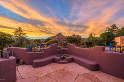 Sedona Single Family Home For Sale: 90 Valley View Drive
