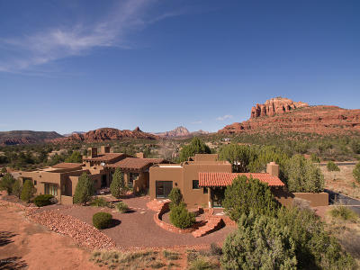 Sedona AZ Single Family Home For Sale: $1,950,000