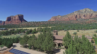 Sedona AZ Single Family Home For Sale: $2,750,000
