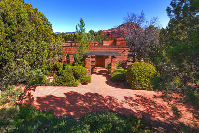 Sedona AZ Single Family Home For Sale: $799,000