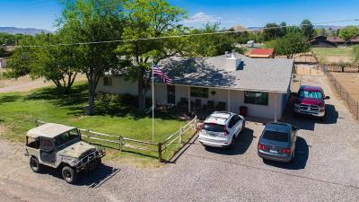Cottonwood Single Family Home For Sale: 3660 E Carol Lane