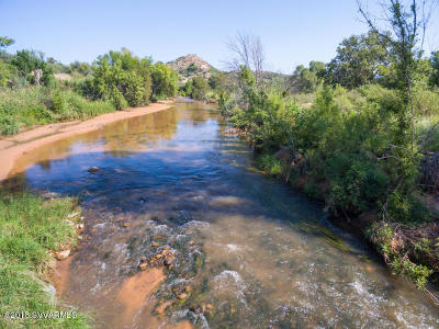 Sedona, Camp Verde, Cornville, Cottonwood, Lake Montezuma, Prescott, Prescott Valley, Rimrock Single Family Home For Sale: 2845 S Sexton Ranch Rd