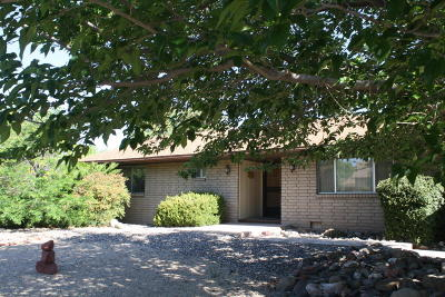 Clarkdale Single Family Home For Sale: 240 W Black Hills Drive