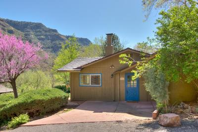Sedona Single Family Home For Sale: 641 Staggs Loop Drive