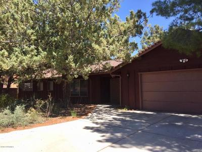 Sedona Single Family Home For Sale: 120 Stations West Drive