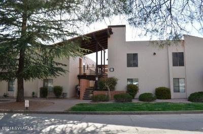 Sedona, Camp Verde, Cornville, Cottonwood, Lake Montezuma, Prescott, Prescott Valley, Rimrock Condo/Townhouse For Sale: 65 Verde Valley School Rd #B7
