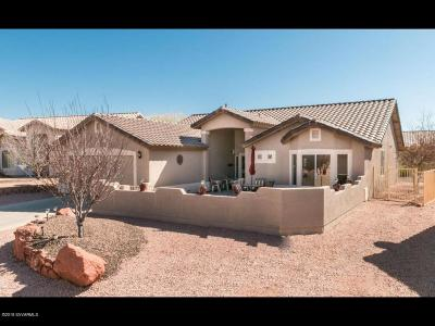 Cornville Single Family Home For Sale: 825 S Rising View Court