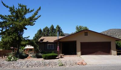 Sedona Single Family Home For Sale: 35 Gunsight Hills Drive