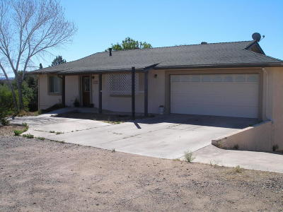 Cottonwood AZ Single Family Home For Sale: $290,000