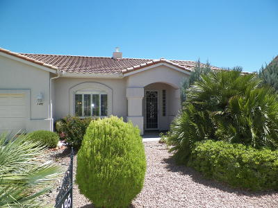 Cottonwood AZ Single Family Home For Sale: $347,500