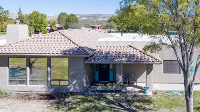 Camp Verde Single Family Home For Sale: 2335, 2355 S Glenrose Drive