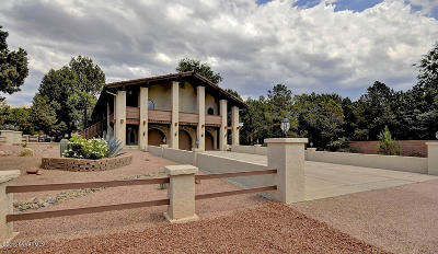 Sedona Single Family Home For Sale: 32 San Patricio Drive