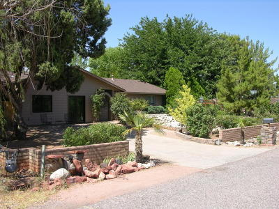 Sedona Single Family Home For Sale: 35 Arroyo Drive