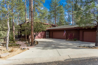 Prescott Single Family Home For Sale: 1713 Quail Run