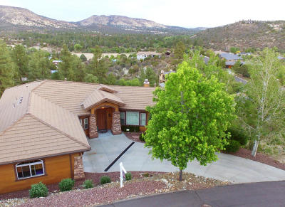 Prescott Single Family Home For Sale: 1796 Windy Walk Lane