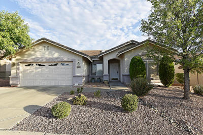Cottonwood Single Family Home For Sale: 2160 W Trail Blazer Drive