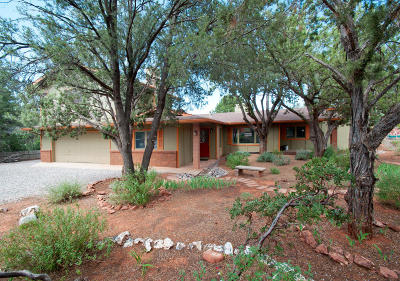 Sedona Single Family Home For Sale: 285 Hohokam Drive