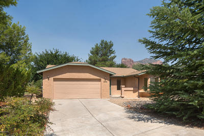 Sedona Single Family Home For Sale: 230 Castle Rock Rd