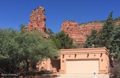Sedona Single Family Home For Sale: 220 Bell Rock Blvd