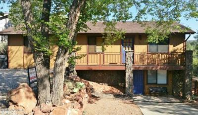 Sedona Single Family Home For Sale: 390 Coffee Pot Drive
