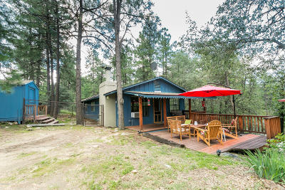 Prescott Single Family Home For Sale: 4763 S Juniper Loop Rd