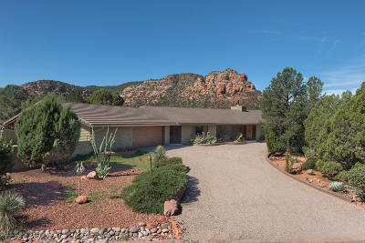 Sedona Single Family Home For Sale: 315 Red Rock Drive