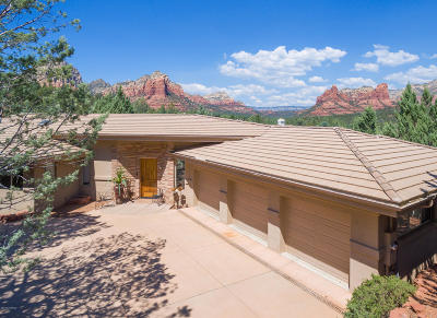 Sedona Single Family Home For Sale: 15 Soldiers Trail