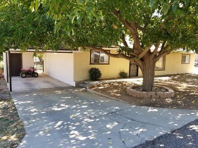 Cottonwood Single Family Home For Sale: 2715 Mesa Lane